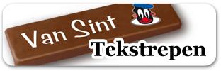 tekstrepen chocolade